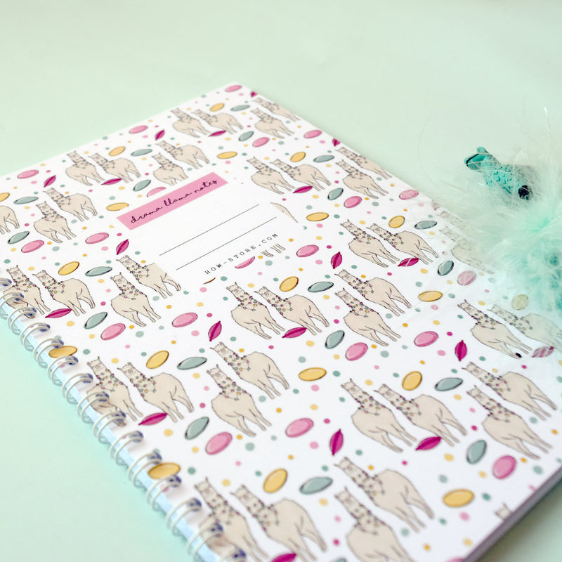 Drama Llama Notebook - House Of Wonderland