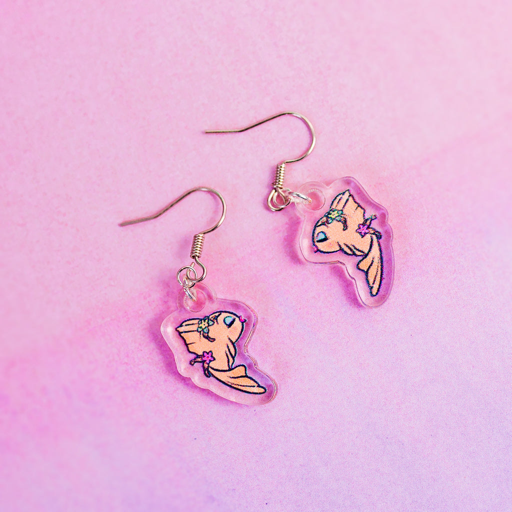 Goldfish Earrings - House Of Wonderland, HOW