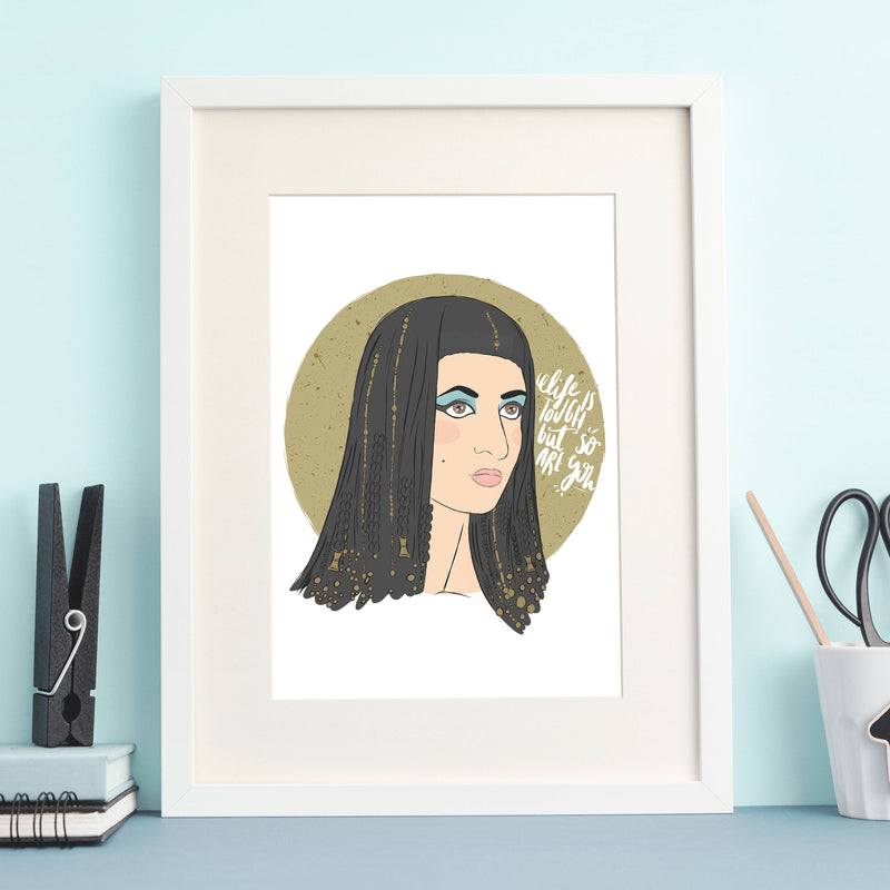Cleopatra Print - House Of Wonderland, HOW