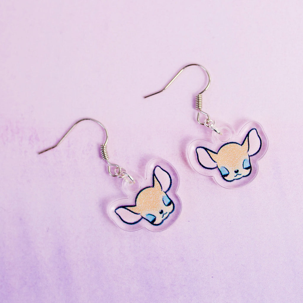 Deer Earrings - House Of Wonderland, HOW