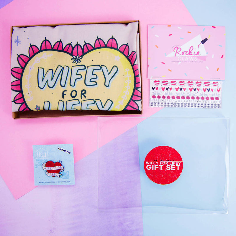 Wifey For Lifey Gift Set - House Of Wonderland, HOW