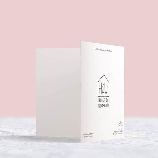 New Baby Card - House Of Wonderland