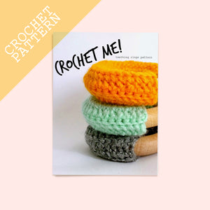 Teething rings Crochet Pattern - House Of Wonderland, HOW