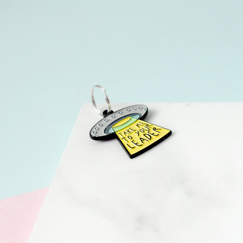 UFO Pet Charm - House Of Wonderland, HOW
