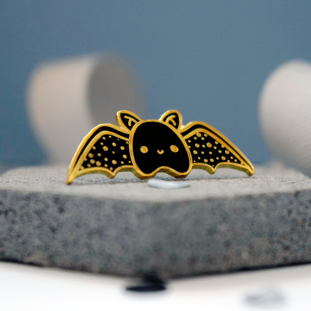 Bat Enamel Pin - House Of Wonderland