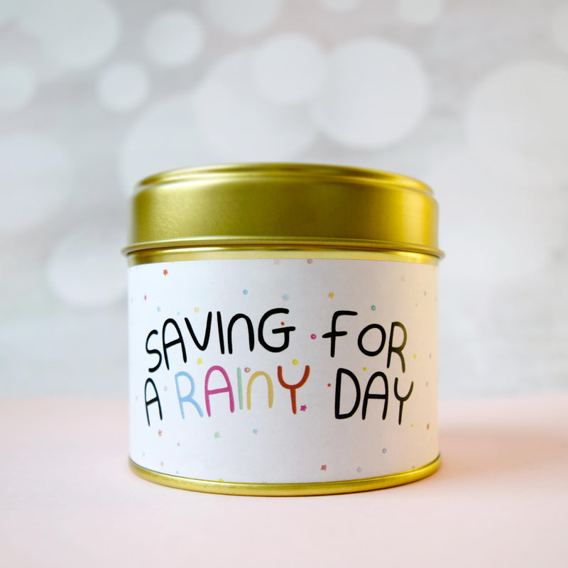 Saving For A Rainy Day Tin - House Of Wonderland, HOW