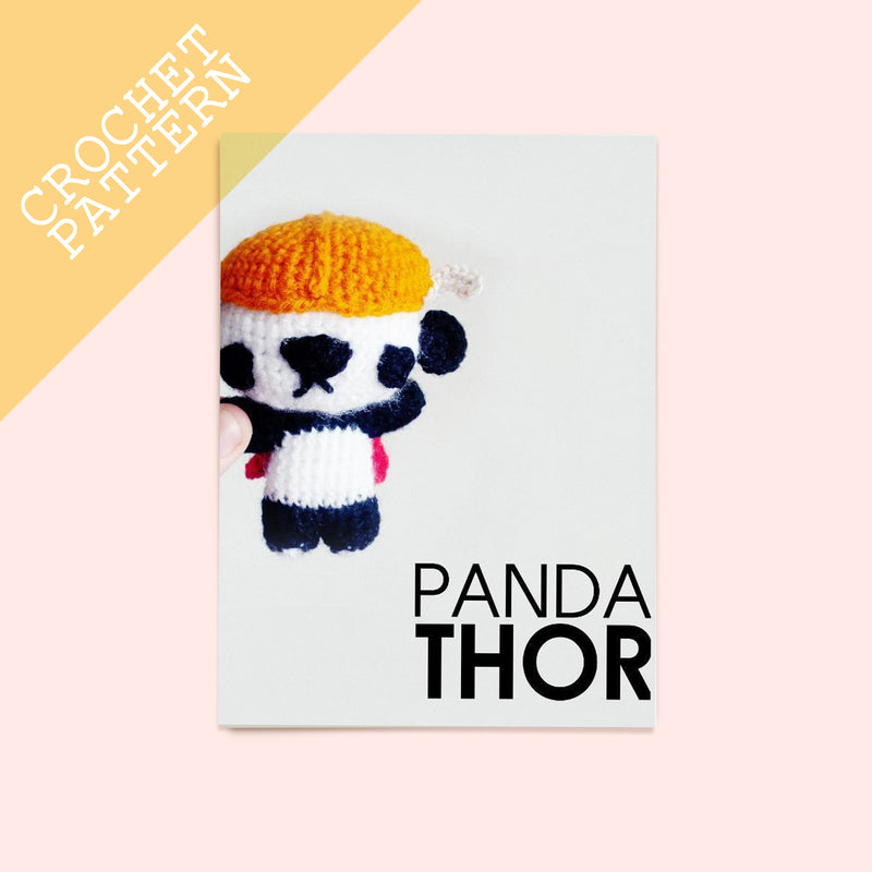 Panda Thor Crochet Pattern - House Of Wonderland, HOW