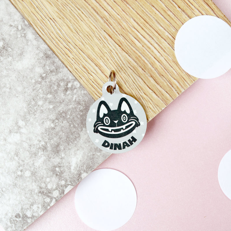 Happy Cat Pet Tag - House Of Wonderland