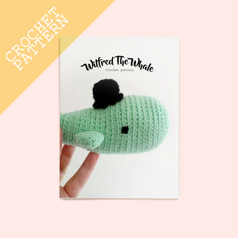 Wilfred The Whale Crochet Pattern - House Of Wonderland, HOW