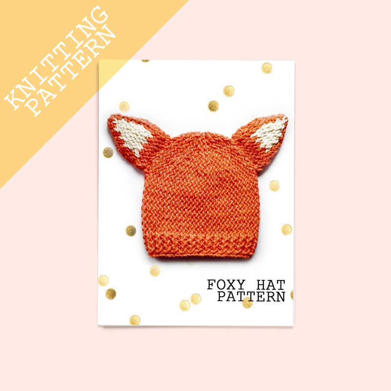 Fox Hat Knitting Pattern - House Of Wonderland