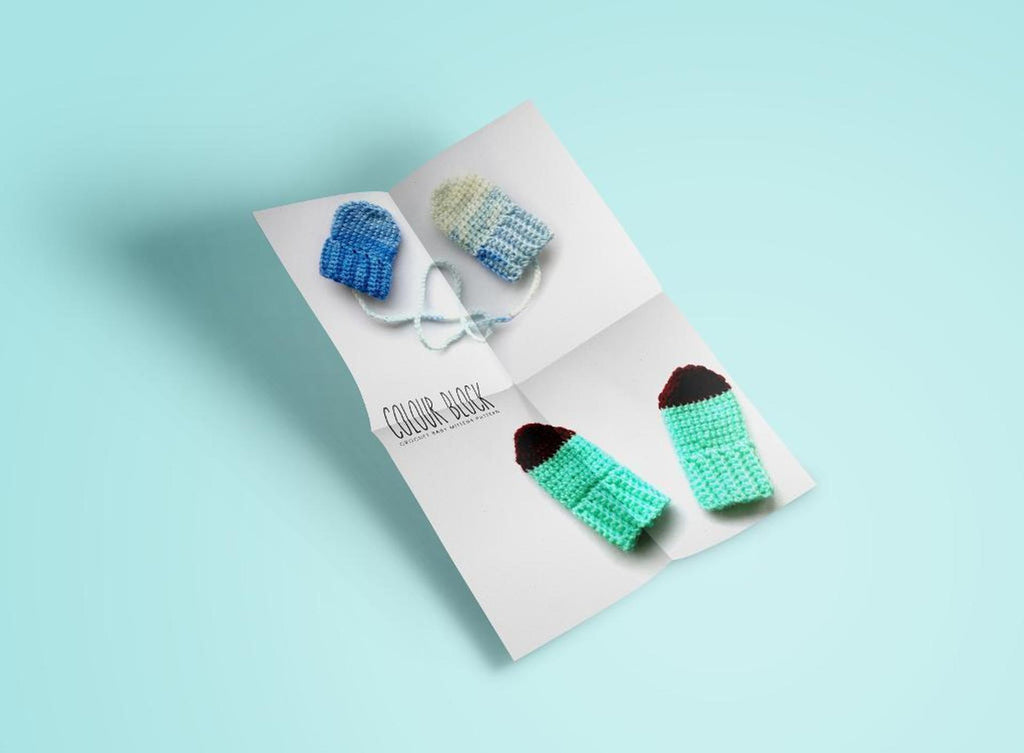 Baby Mittens Crochet Pattern - House Of Wonderland