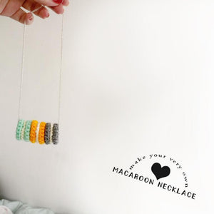 Macaroon Necklace Crochet Pattern - House Of Wonderland, HOW