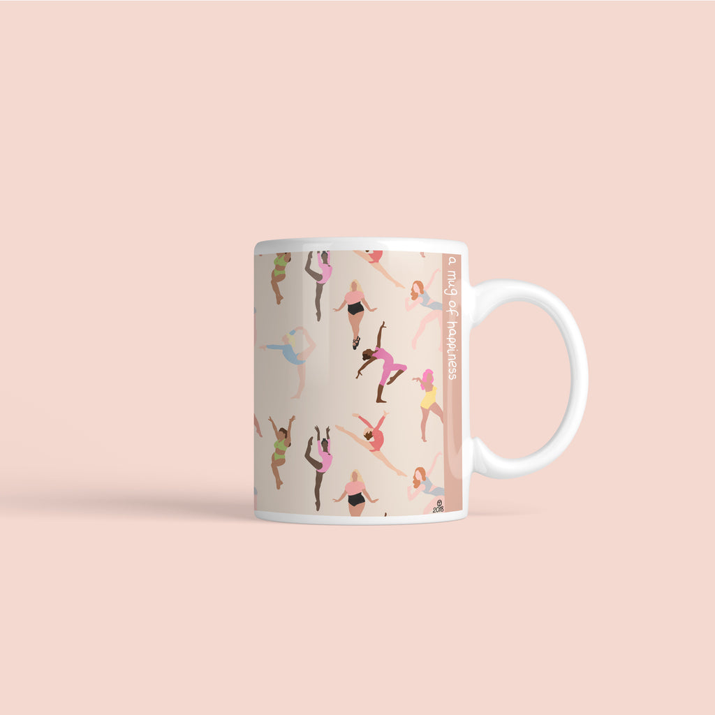 Dancing Girls Mug - House Of Wonderland, HOW