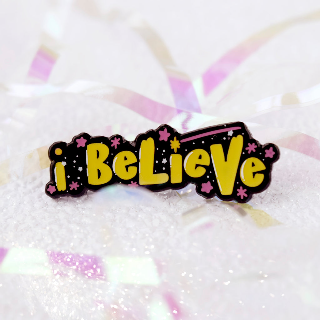 I Believe Enamel Pin - House Of Wonderland