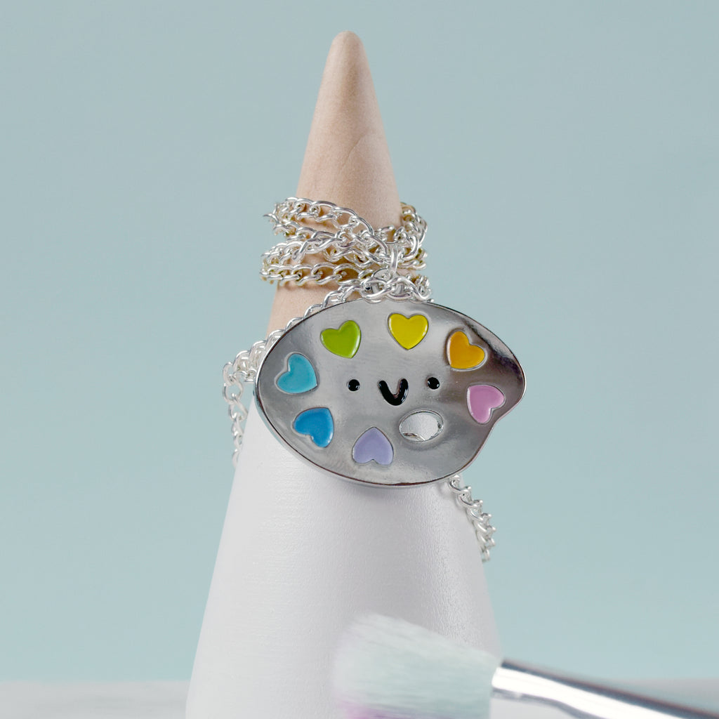 Paint Palette Necklace - House Of Wonderland