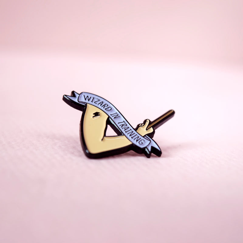 Wizard In Training Enamel Pin - House Of Wonderland, HOW