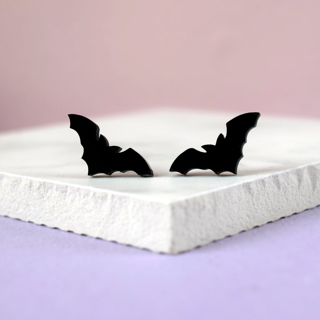 Bat Earrings - House Of Wonderland, HOW