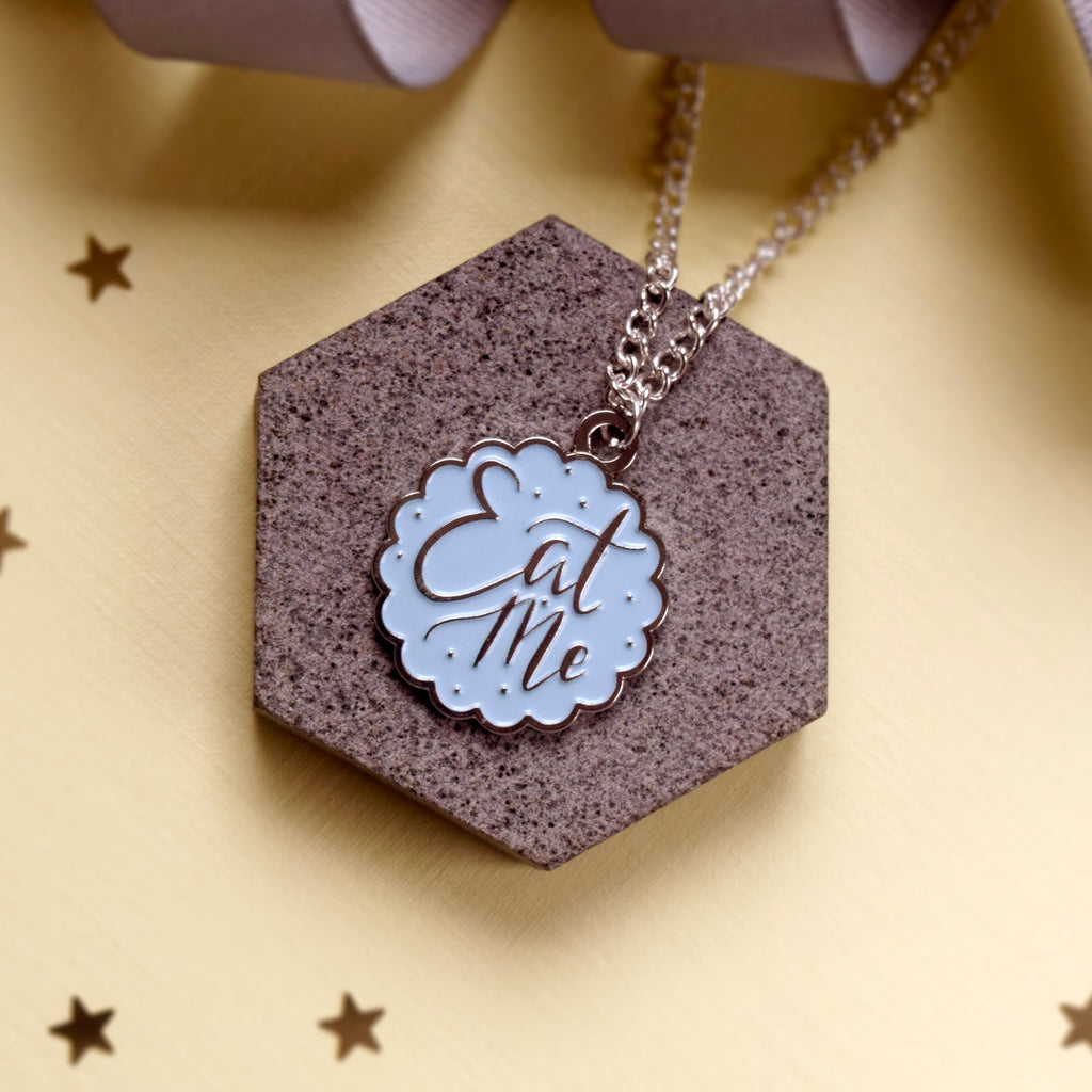 Eat Me Necklace - House Of Wonderland, HOW