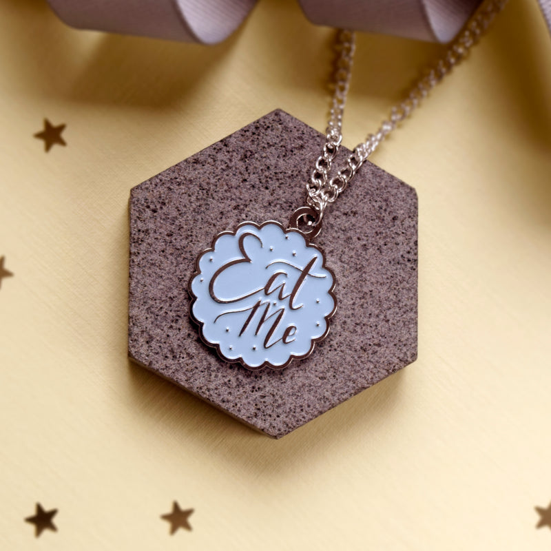 Eat Me Necklace - House Of Wonderland