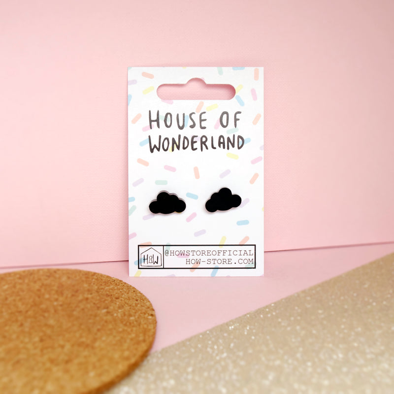 Cloud Earrings - House Of Wonderland, HOW