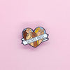 Less Catcalling Enamel Pin