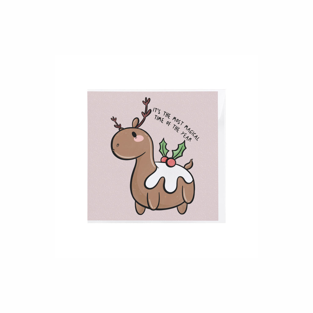Reindeer Christmas Card - House Of Wonderland, HOW