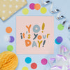 Terrazzo Thank You So Much Card