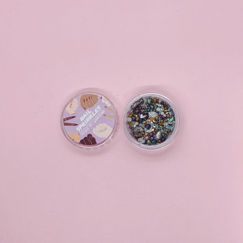 Space Dust Nail Sprinkles - House Of Wonderland, HOW