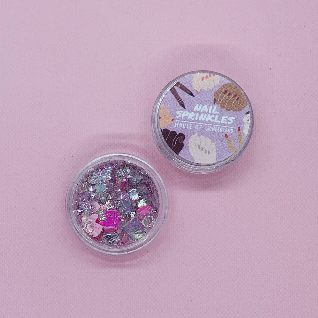 Unicorn Magic Nail Sprinkles - House Of Wonderland, HOW