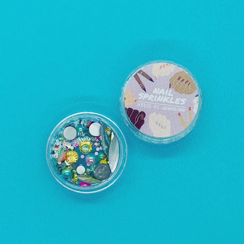 Swimming With Mermaid Nail Sprinkles - House Of Wonderland, HOW