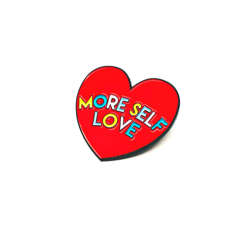 More Self Love Enamel Pin - House Of Wonderland, HOW