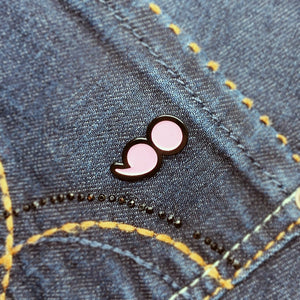 Semicolon Enamel Pin - House Of Wonderland, HOW