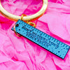 Positive Ruler Keyring - House Of Wonderland, HOW