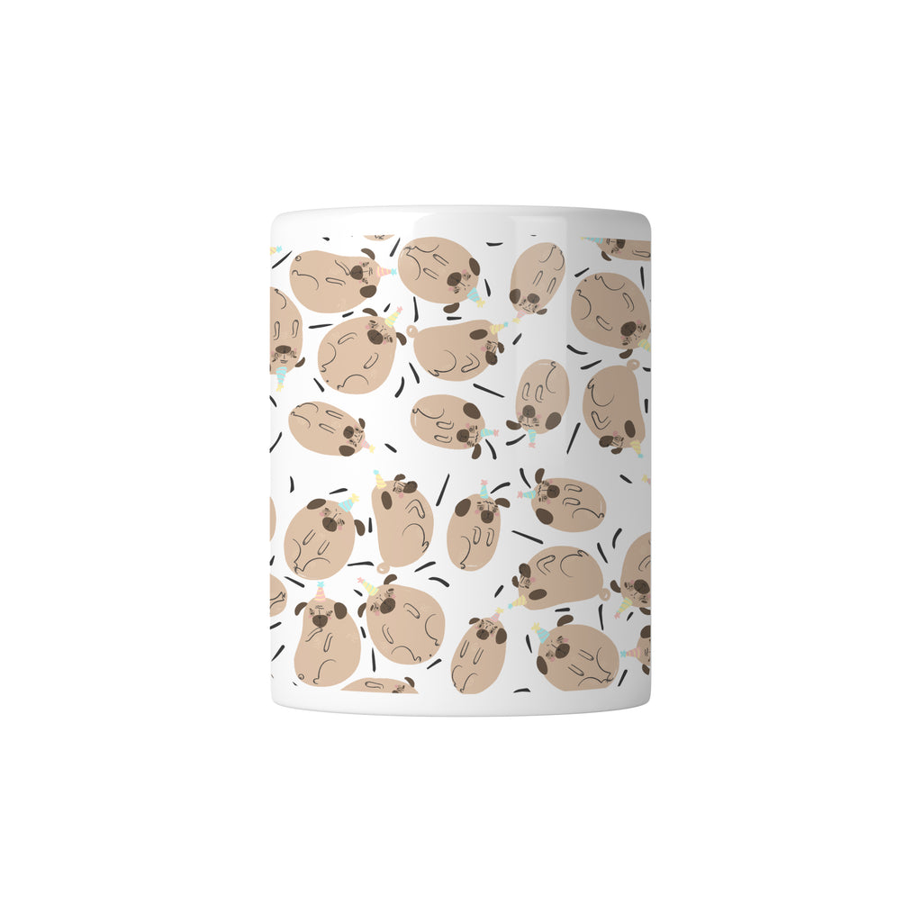 Pug Paradise Mug - House Of Wonderland