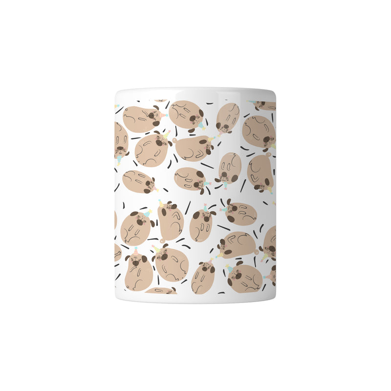 Pug Paradise Mug - House Of Wonderland, HOW
