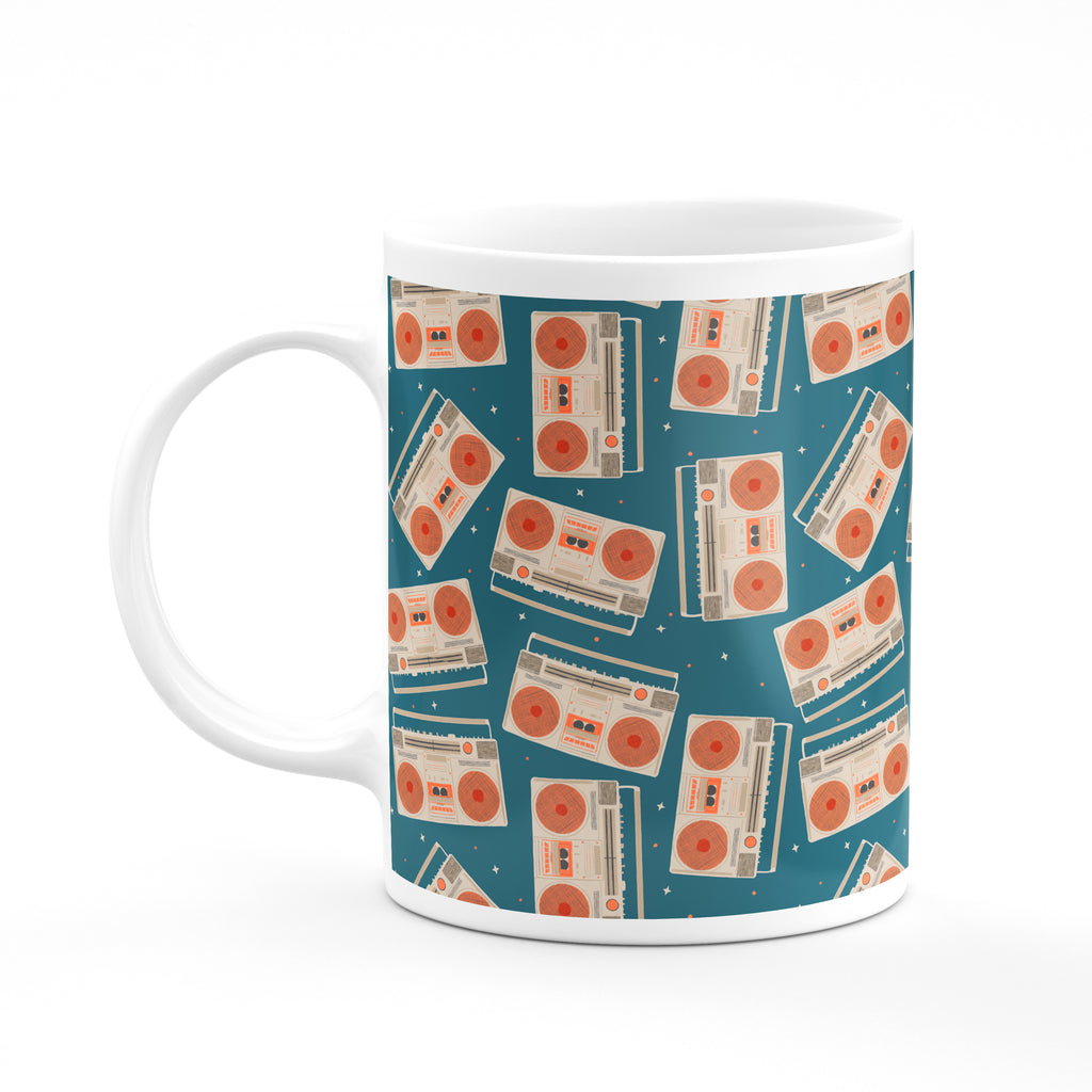 Boombox Mug - House Of Wonderland, HOW