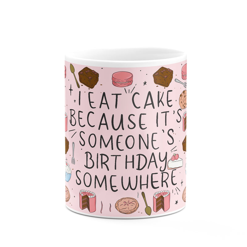 Eat Cake Mug - House Of Wonderland, HOW