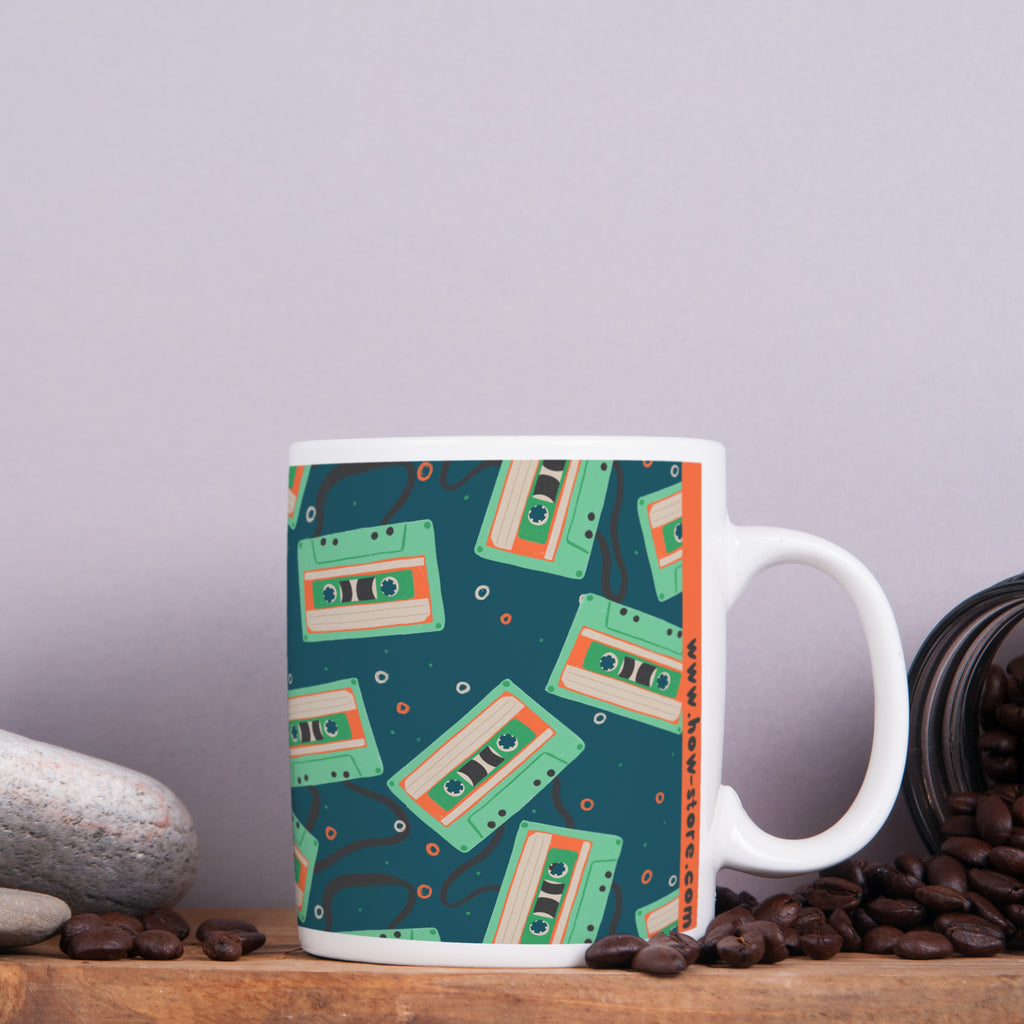 Cassette Tape Mug - House Of Wonderland, HOW
