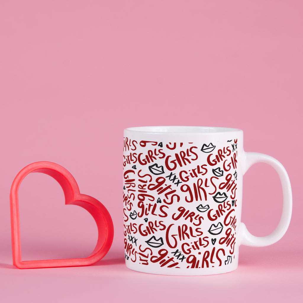 Girls, Girls, Girls Mug - House Of Wonderland, HOW