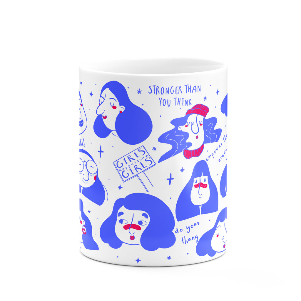 Girls Support Girls Mug - House Of Wonderland, HOW