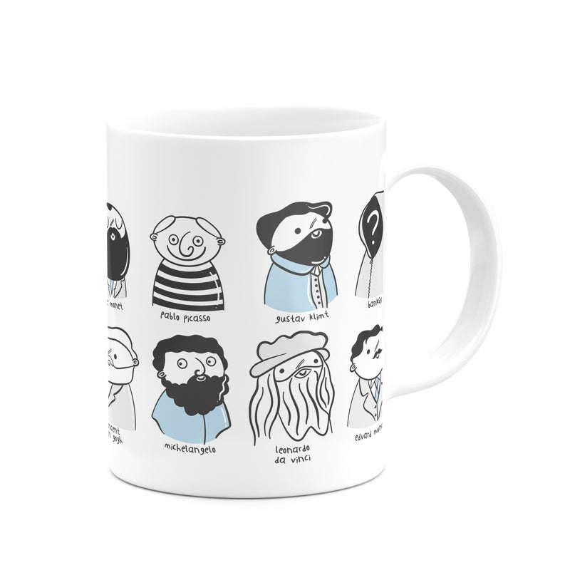 Magnificent Artists Mug - House Of Wonderland, HOW