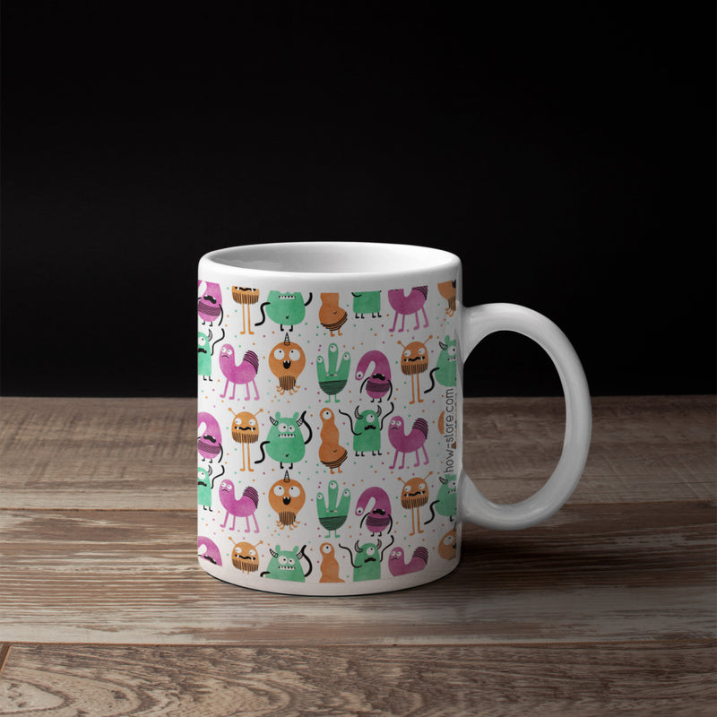 Monster Invasion Mug - House Of Wonderland, HOW