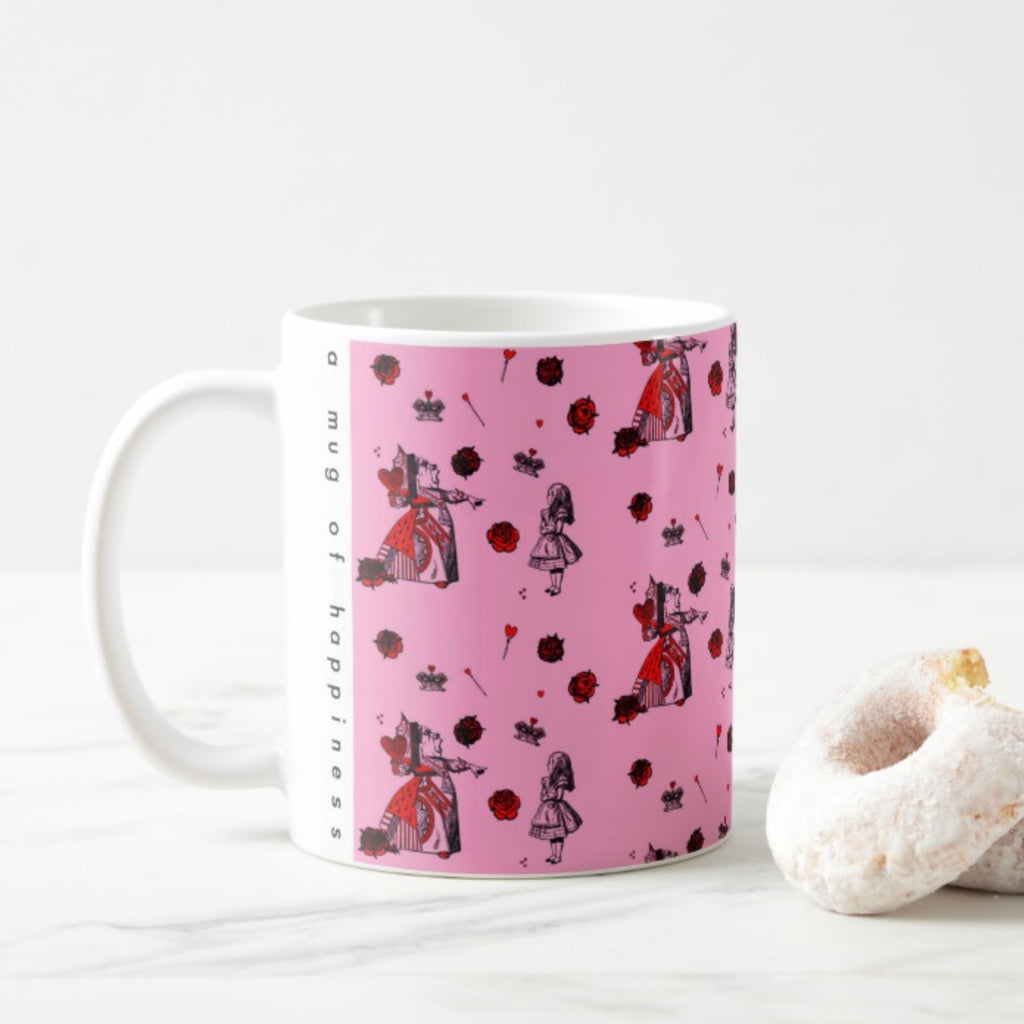 Queen Of Hearts Mug - House Of Wonderland, HOW
