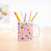 Happy Rainbow Yarn Mug - House Of Wonderland, HOW