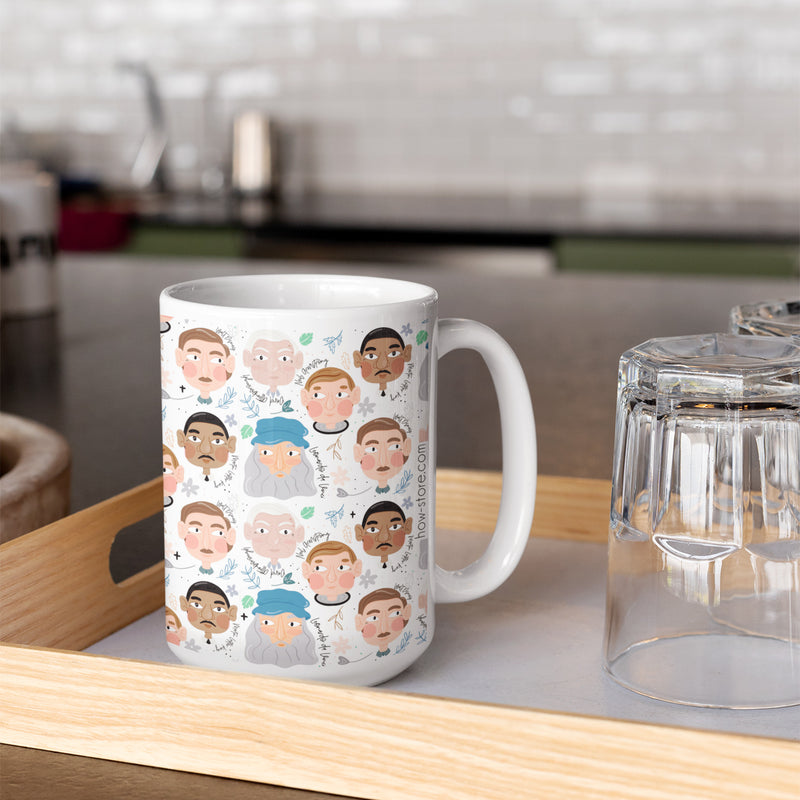 The Greats Homme - #02 Mug - House Of Wonderland, HOW