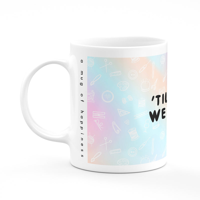 'Til death we do art Mug - House Of Wonderland, HOW