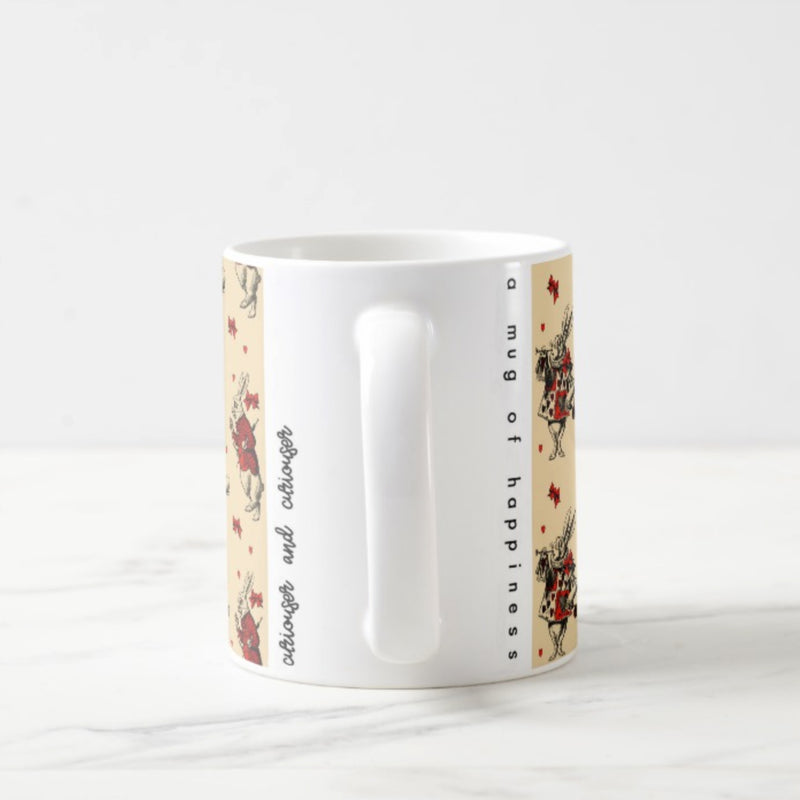 White Rabbit Mug