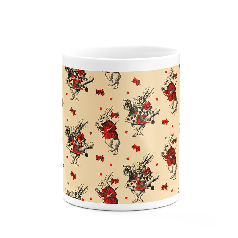 White Rabbit Mug - House Of Wonderland, HOW