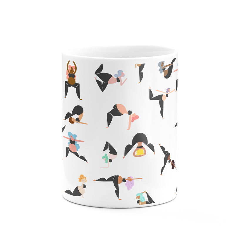 Yoga Girls Mug - House Of Wonderland, HOW
