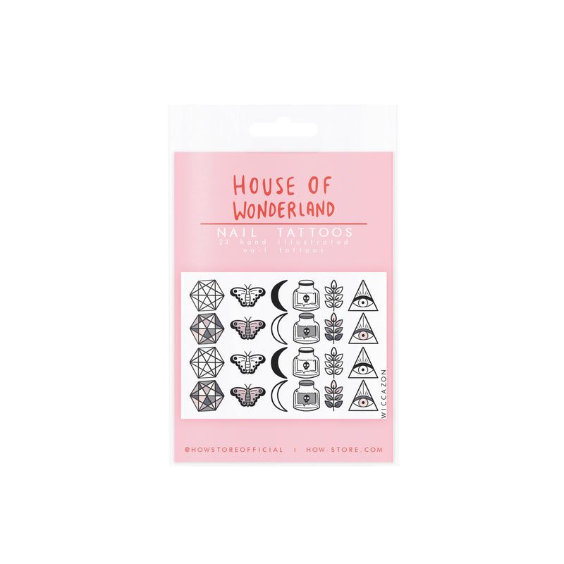 Wicca Nail Tattoos - House Of Wonderland, HOW
